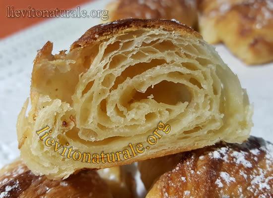 Ricetta Lievito Madre Con Farina Manitoba.Croissant O Cornetti Sfogliati Con Lievito Madre Naturale O Pasta Madre